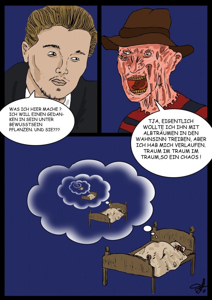 Revierkampf: Freddy vs. Cobb