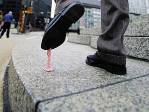 Kaugummi – was kleben bleibt auf den Straßen des WWW #1