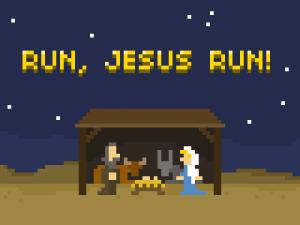 Kaugummi #21: Run, Jesus, Run!