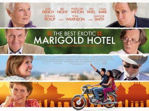 """The Best Exotic Marigold Hotel – oder: """"Mit 66 Jahren fängt das Leben erst an."""""""
