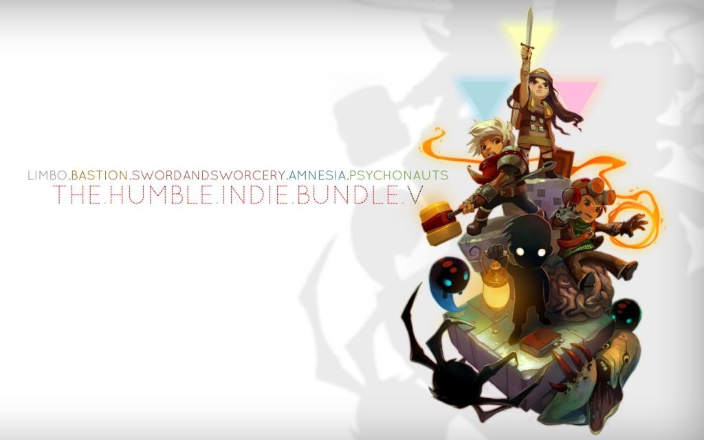 Fünf Spiele für den Preis von keinem? Das Humble Bundle V