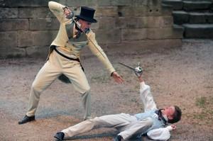 Tumult im Narrenhaus: eine irre Komödie der Sommerspiele Studiobühne Bayreuth