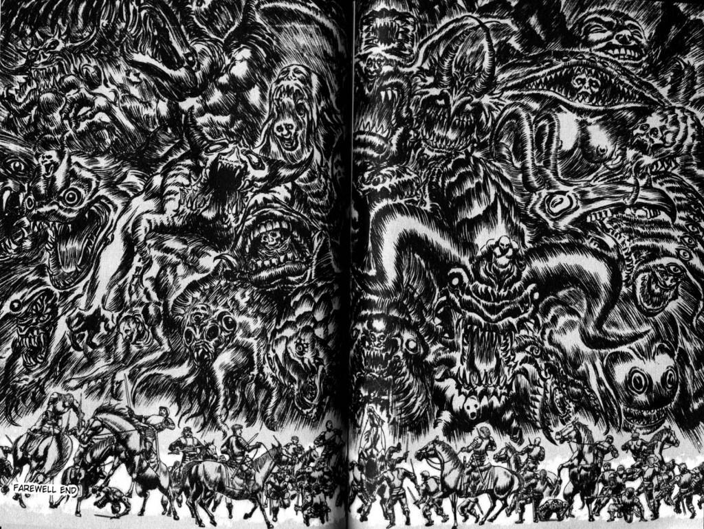Striptease: Berserk – Die Hölle im Manga