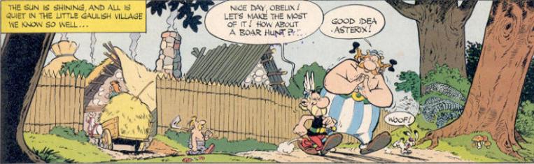 Striptease: Asterix – Die spinnen die Franzosen… äh Römer!