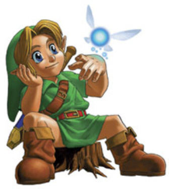link-with-navi-zelda-ocarina-of-time-artwork
