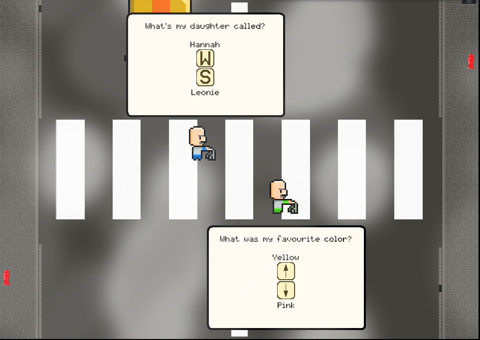 Crosswalk Grandpa Extravaganza Game Jam Screenshot