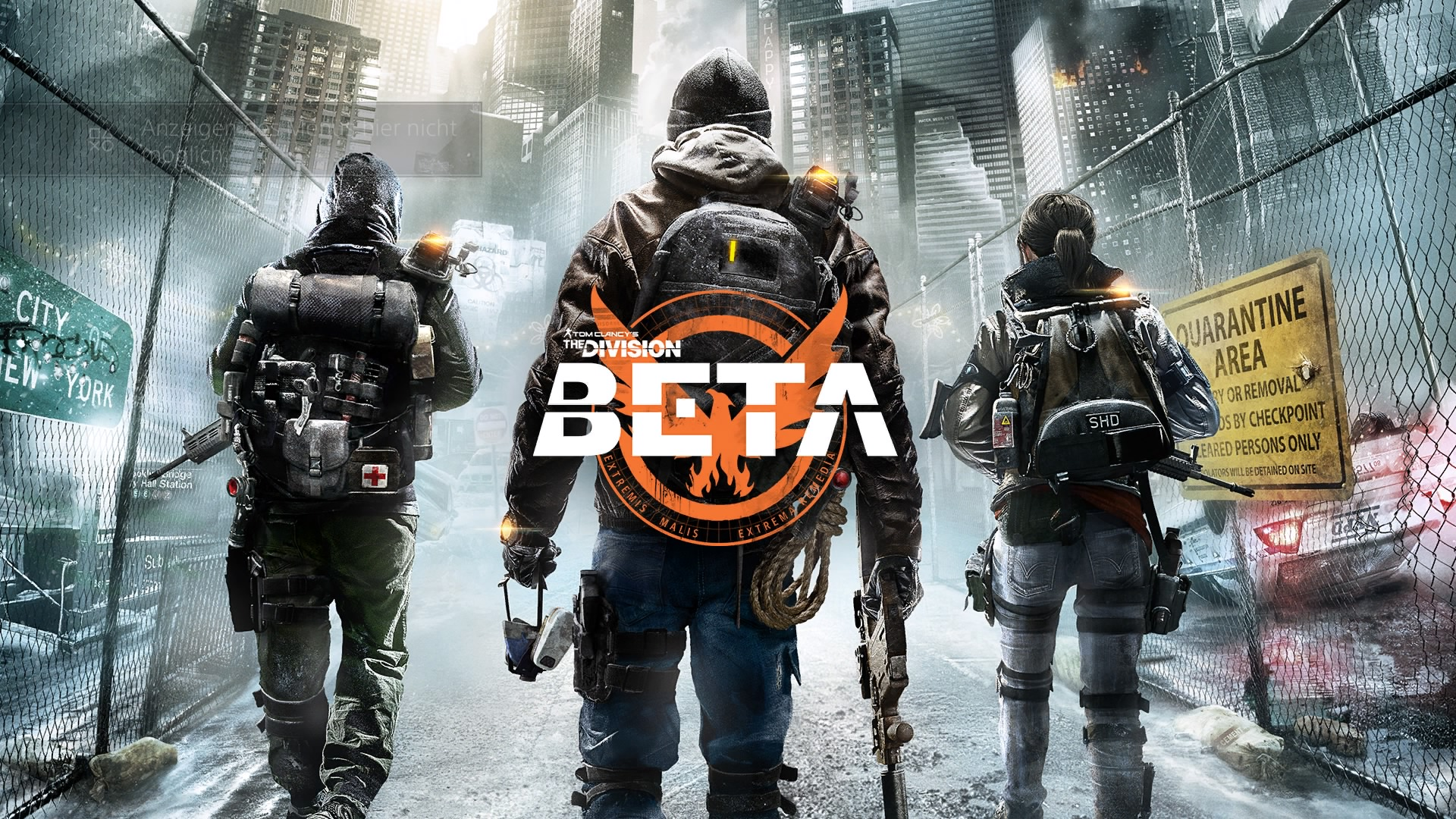 Tom Clancy's The Division™ Beta_Titlescreen